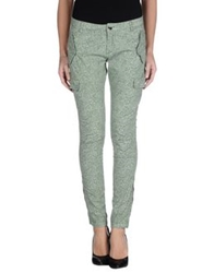 South Beach Casual Pants Military Green