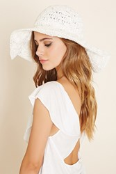 Forever 21 Wide Brim Straw Hat