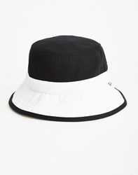 Huf Colourblock Bucket Hat Black White
