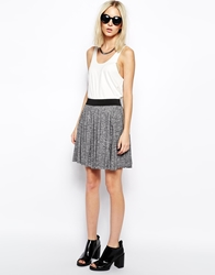 Weekday Circular Skirt Grey