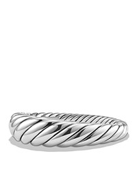 David Yurman Pure Form Cable Bracelet In Sterling Silver