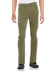 Brooks Brothers Thin Corduroy Pants Green