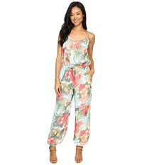 Tommy Bahama Solidad Oasis Jumpsuit Island Ice Women's Jumpsuit And Rompers One Piece Multi