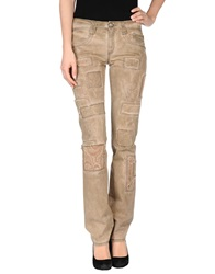 Carlo Chionna Denim Pants Beige