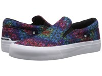 Dc Trase Slip On Sp Primary Tie Dye Women's Skate Shoes Blue