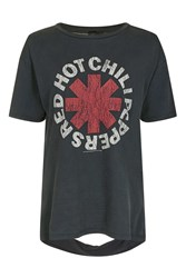 And Finally Red Hot Chilli Slash Back T Shirt By Black
