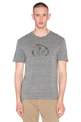 Ever Partial Logo Tee Gray