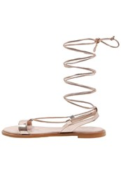 Zign Sandals Rosegold Rose Gold