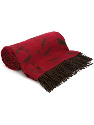 Assouline 'Didot' Scarf Brown