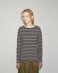 Norse Projects Inge Stripe Top Navy Ecru