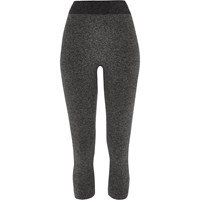 River Island Womens Grey Jersey Seamless High Rise Leggings