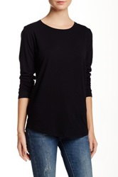Majestic Basic Long Sleeve Tee Black