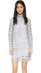 Keepsake Acoustic Lace Dress Pale Grey
