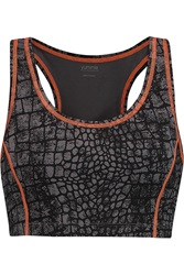 Yummie Tummie Venus Printed Stretch Jersey Sports Bra