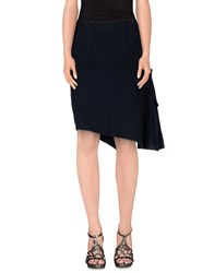 Collection Priv E Skirts Knee Length Skirts Women Dark Blue