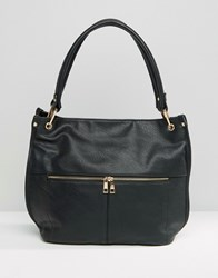Oasis Suede Slouch Bag Black