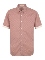 Racing Green Bridlington Short Sleeve Shirt Rust