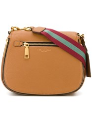 Marc Jacobs 'Gotham' Saddle Crossbody Bag Brown