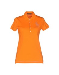Ralph Lauren Topwear Polo Shirts Women Orange