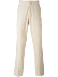 Geoffrey B. Small Tailored Trousers Nude And Neutrals