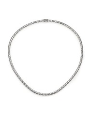 John Hardy Dot Sterling Silver Small Chain Necklace 18