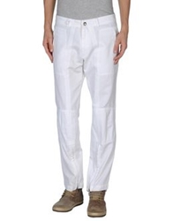 Dries Van Noten Casual Pants White