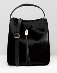 Fiorelli Riley Large Drawstring Duffle Bag Riley Black