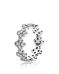 Pandora Design Pandora Ring Sterling Silver And Cubic Zirconia Oriental Blossom