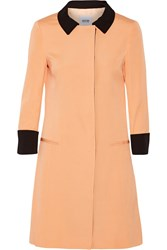 Moschino Cheap And Chic Two Tone Woven Coat Nude