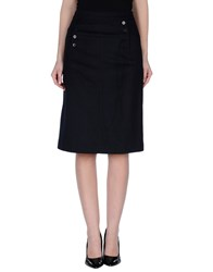 Marc By Marc Jacobs Skirts Knee Length Skirts Women Dark Blue