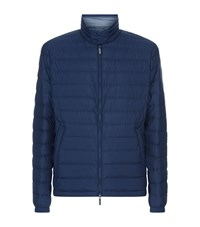 Boss Lightweight Down Jacket Male Navy