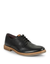 Ben Sherman Birk Suede Oxfords Black