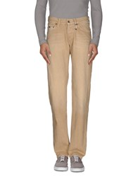 Met Denim Denim Trousers Men Beige