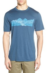 Men's Ibex 'Art' Merino Wool Performance T Shirt