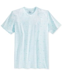 American Rag Men's Textured T Shirt Only At Macy's Clear Blue
