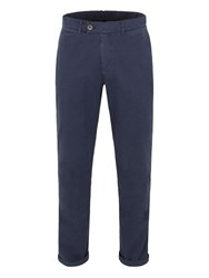 Gibson Straight Leg Cotton Chinos Navy