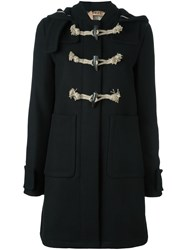 N 21 No21 Hooded Duffle Coat Black