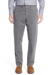 John W. Nordstrom Tailored Fit Chinos Gray
