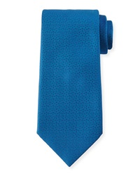 Charvet Textured Silk Tie Blue
