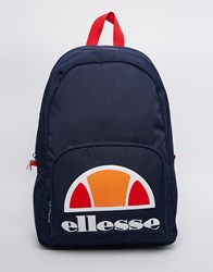 Ellesse Logo Backpack Blue