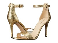 Nine West Mana Light Gold Synthetic High Heels
