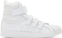 White Adidas Originals By Juun.J High Top Sneakers