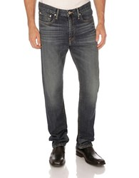 Lucky Brand 410 Athletic Fit Corte Madera Wash Blue