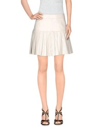Pam And Gela Skirts Mini Skirts Women Ivory