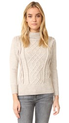Ayr The Louisiana Sweater Oatmeal