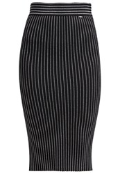 Gaudi' Gaudi Pencil Skirt Black