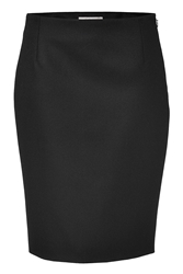 Bouchra Jarrar Wool Pencil Skirt