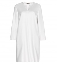 Loro Piana Janey Cashmere Dress White