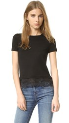 Theory Lilany Sweater Top Black
