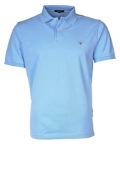 Gant Solid Pique Polo Shirt Capri Blue